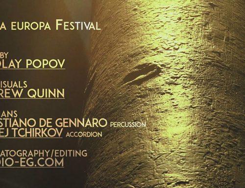 Trailer RomaEuropa 2015 – music of Nikolay Popov – Visual By Andrew Quinn